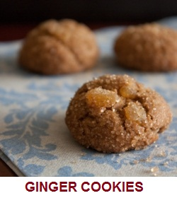 Three Ginger Cookies
